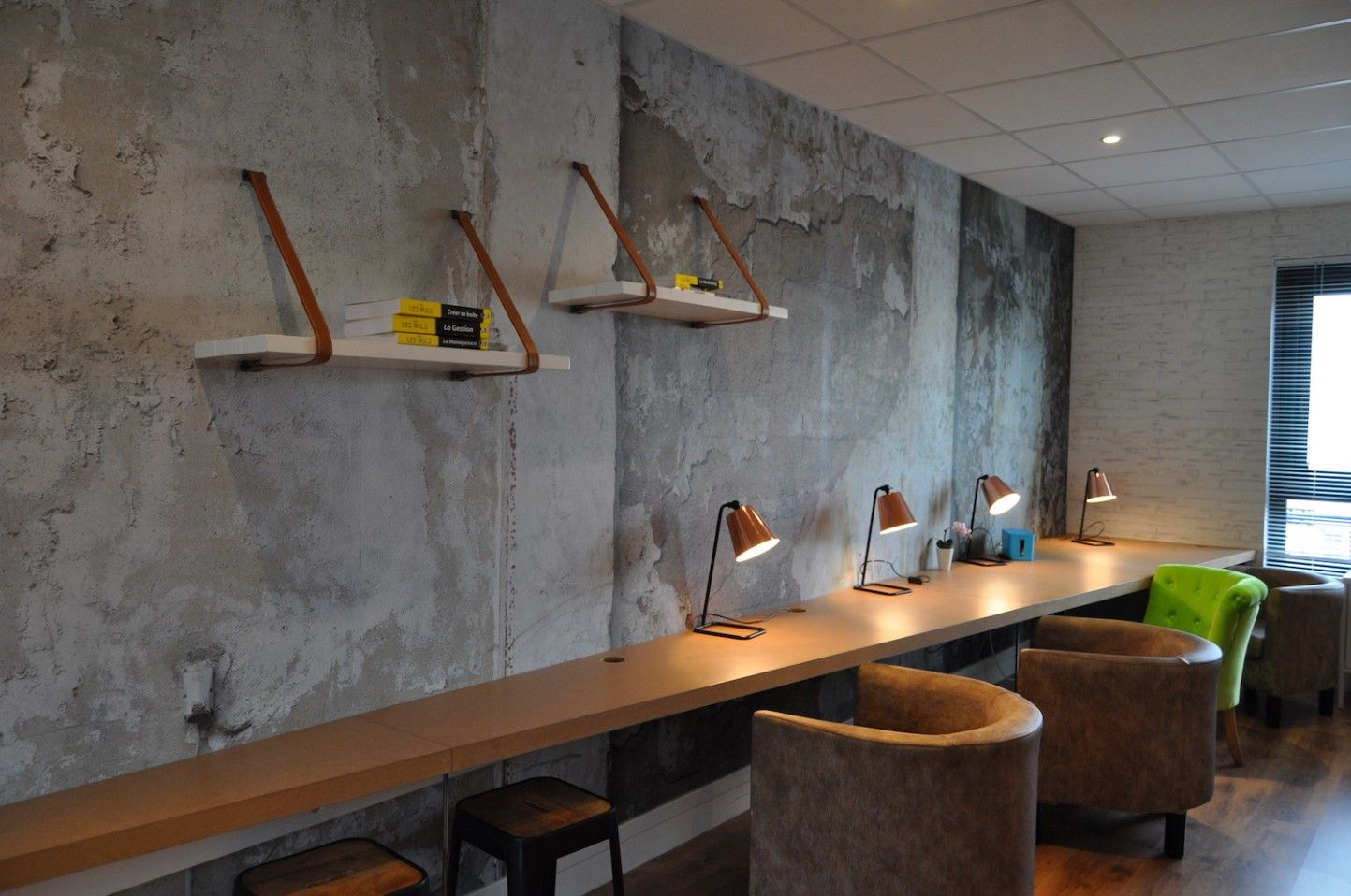 Open space Office Coffee