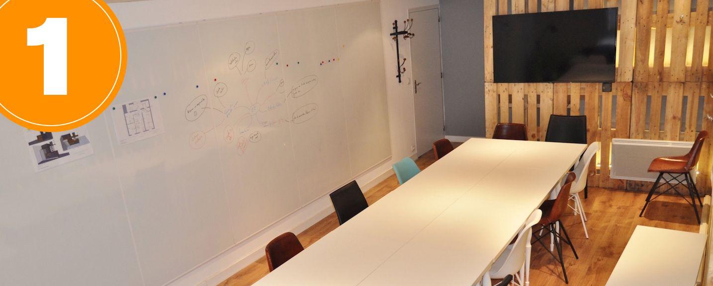 Office Coffee Workshop Grande salle de réunion