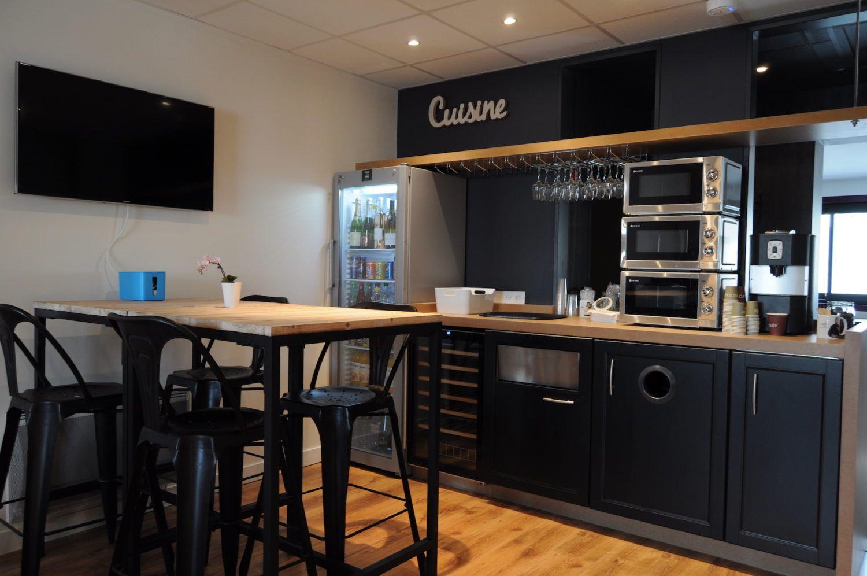 Cuisine Open Space Office Coffee